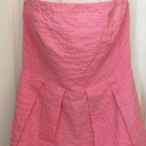 JCrew Pink Waffle Dress
